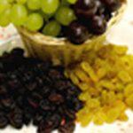 Psu strupena, nevarna hrana - grozdje, rozine