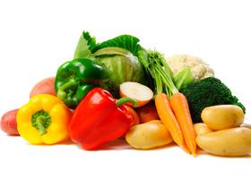 Zelenjava, hrana, pes