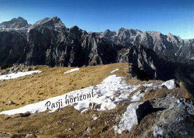 Debela peč, vrh, panorama