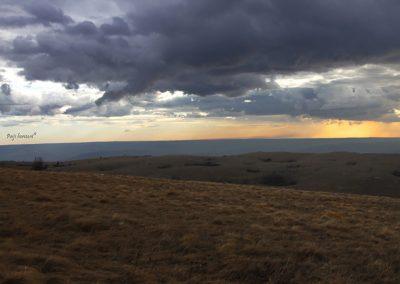 Golič, pogled proti zahodu