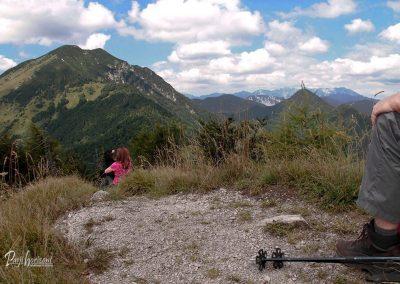 Javorjev vrh, počitek z razgledom