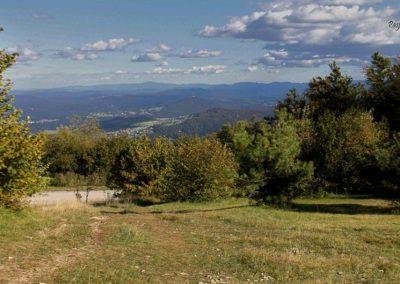 Krim, pogled na Ljubljansko kotlino