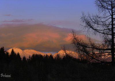 Planica, Novoletni sončni zahod