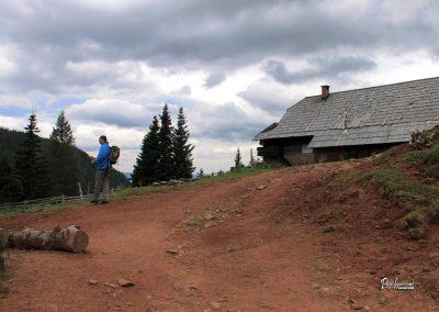Planina Korošica, Pastirska koča