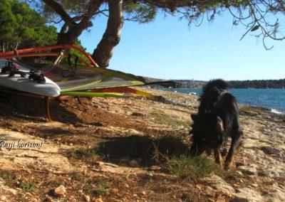 Pasji horizont, Premantura plaža