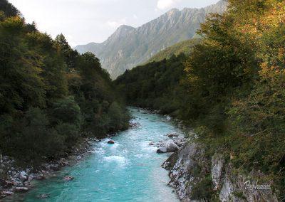 Izlet Razgled na reko Sočo