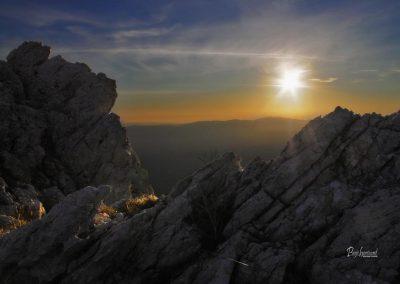 Izlet Sinji vrh in skalni sončni zahod