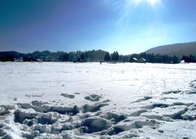 Rakitna; sneg, zima, razgled