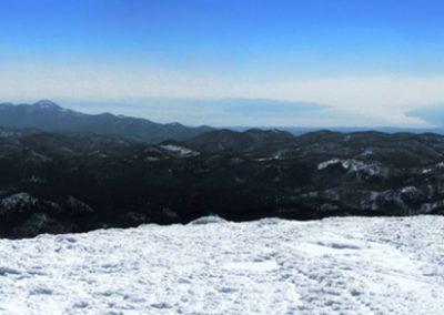 Veliki snežnik, panorama