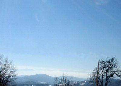 Sveta Katarina v snegu, zimski razgled