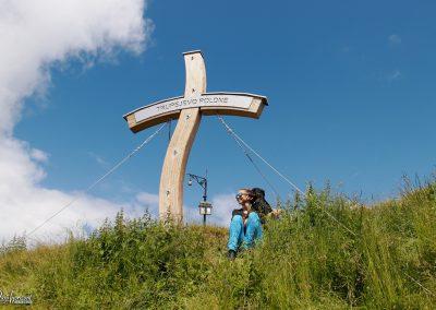 Trupejevo poldne, vrh, križ