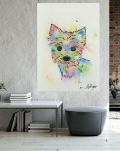 Yorkshire terrier Carlos • bostjan-art-bart •