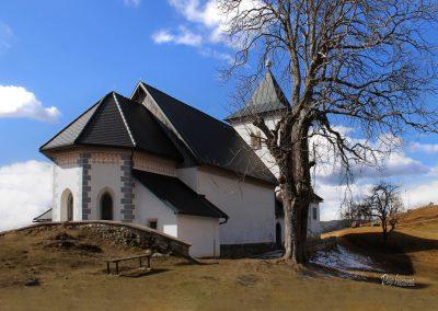Cerkev Sveti Peter na Gori, Begunje