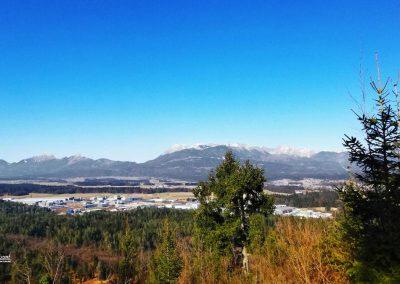 Koseški hrib, razgled, Komenda