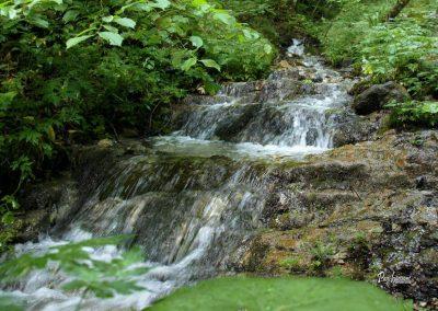 Ob poti, dom na Govejku, vodna osvežitev