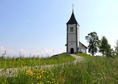 Cerkev sv. Primož in Felicijan, Jamnik