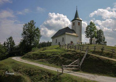 Cerkev Sv. Duh, Podolševa