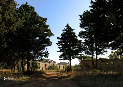 Zapuščeni vojaški objekt, Ližnjan, ruševine