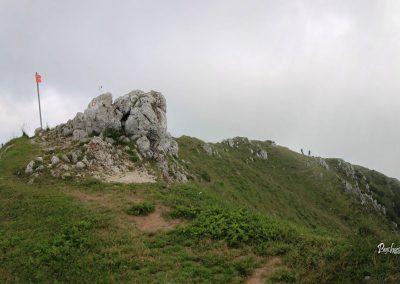 Govca (Olševa), vrh, greben