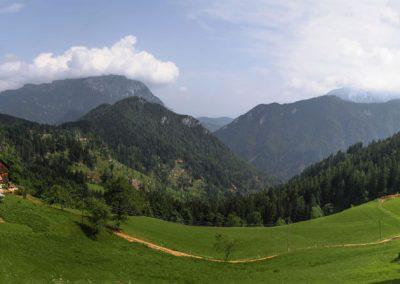 Podolševa, razgled, panorama