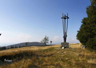 Najvišja točka, 1543nm na Črnem vrhu, Ribniško Pohorje