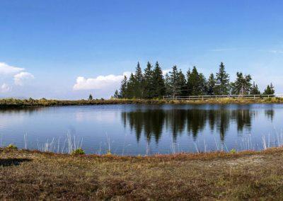 Zbirno jezero za smučišče Ribnica na Pohorju, Ribniško Pohorje